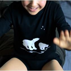 T-Shirt Ours Polaires En...