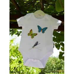 Body Papillon en coton bio