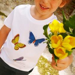 T-shirt Papillon en coton bio